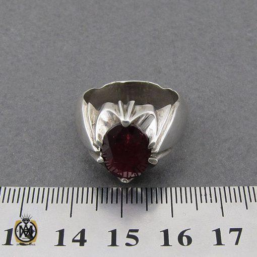 انگشتر یاقوت سرخ خوش رنگ مردانه - کد 10046 - 4 294 510x510