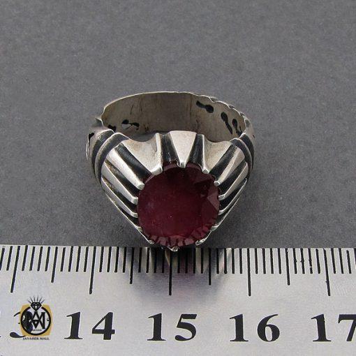 انگشتر یاقوت سرخ مردانه- کد 10049 - 4 297 510x510