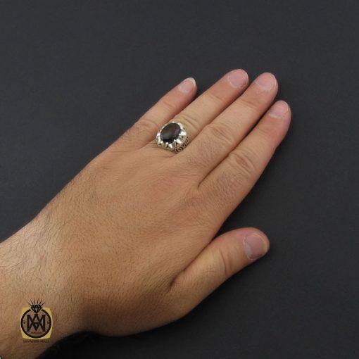 انگشتر اپال مردانه دست ساز و فاخر - کد 8941 - 5 153 510x510