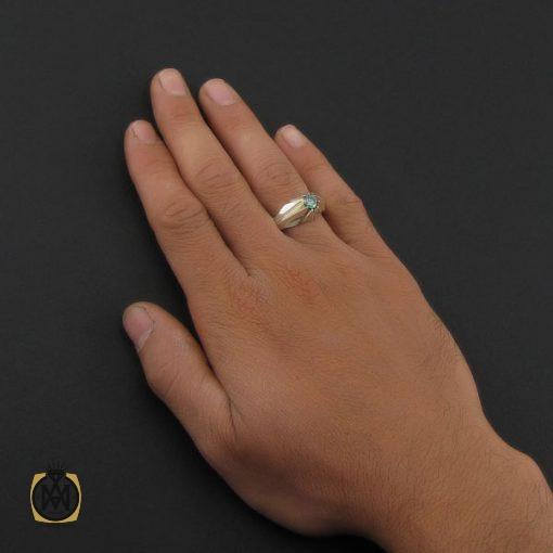 انگشتر موزانایت مردانه هنر دست استاد شرفیان – کد 8814 - 5 16 510x510