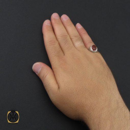 انگشتر عقیق یمن مردانه دست ساز - کد 8974 - 5 187 510x510