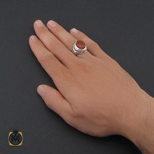 انگشتر عقیق یمن مردانه - کد 10063 - 5 260 510x510