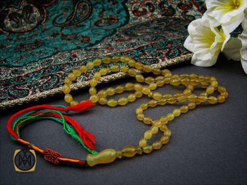 تسبیح شاه مقصود افغان ۱۰۱ دانه خوش رنگ – کد ۴۱۶۴