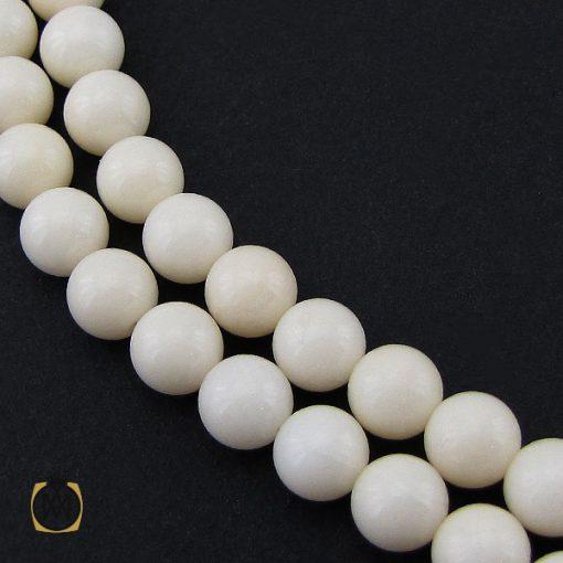 تسبیح 101 دانه مرجان سفید درشت - کد 4196 - 1 263 510x510