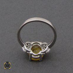 انگشتر یاقوت زرد طرح آیدا زنانه - کد 2137 - 2 198 247x247