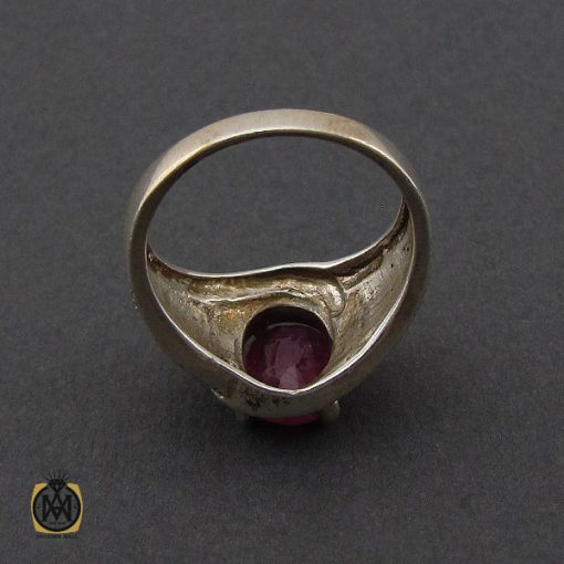 انگشتر یاقوت سرخ طرح شهگل زنانه - کد 2143 - 2 204 510x510