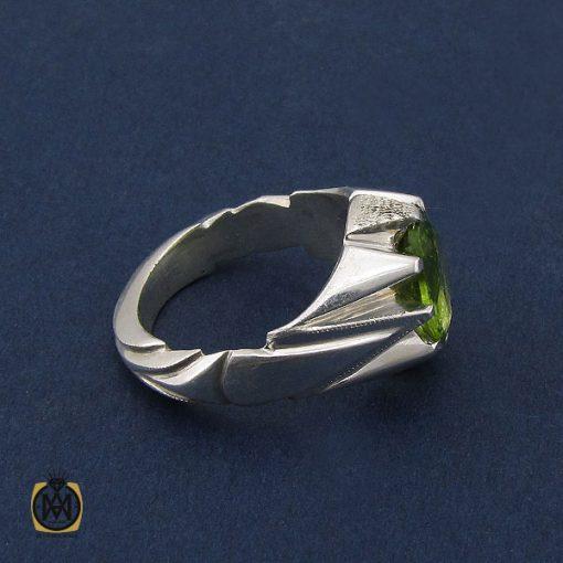 انگشتر زبرجد مردانه دست ساز - کد 10090 - 2 27 510x510