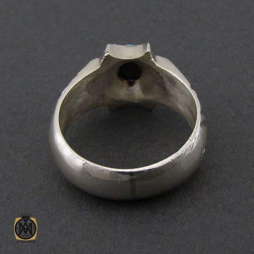انگشتر فیروزه نیشابوری مردانه  - کد 10177 - 2 275 510x510