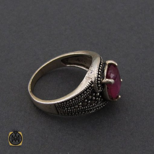 انگشتر یاقوت سرخ طرح شهگل زنانه - کد 2143 - 3 207 510x510