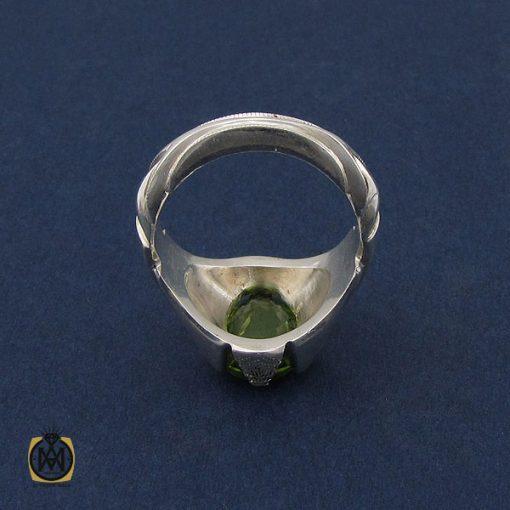 انگشتر زبرجد مردانه دست ساز - کد 10090 - 3 27 510x510