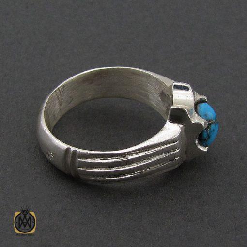 انگشتر فیروزه نیشابوری مردانه  - کد 10173 - 3 274 510x510