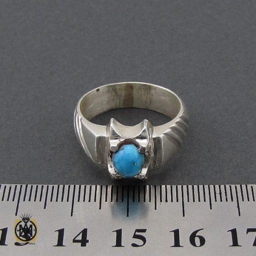 انگشتر فیروزه نیشابوری مردانه  - کد 10177 - 4 275 510x510