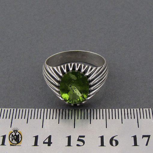 انگشتر زبرجد مردانه خوش رنگ – کد ۱۰۱۷۹