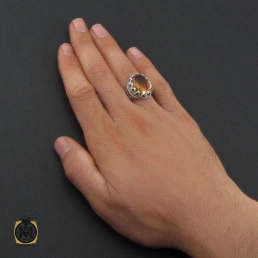 انگشتر زولتنایت مردانه هنر دست استاد صانعی - کد 10171 - 5 243 510x510