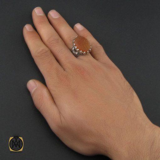 انگشتر عقیق یمن با حکاکی یا رقیه ریحانه الحسین استاد حیدر مردانه – کد ۱۰۱۲۴