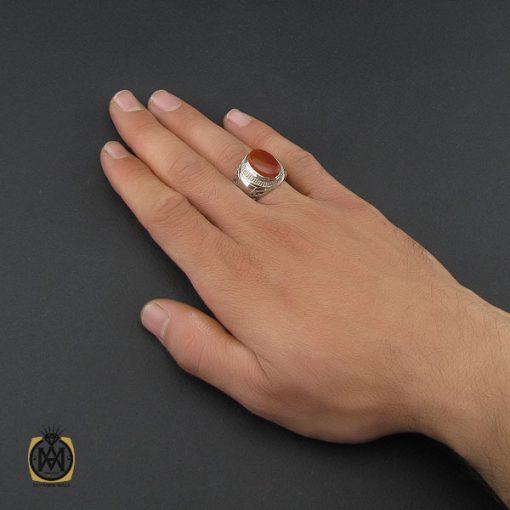 انگشتر عقیق یمن مردانه - کد 10138 - 5 94 510x510