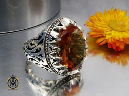 انگشتر زولتنایت مردانه دست ساز هنر استاد صانعی - کد 10309 - 00 134 510x383