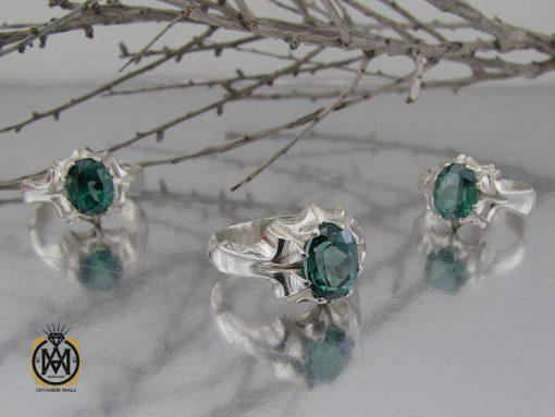انگشتر توپاز سبز مردانه - کد 10390 - 00 251 510x383