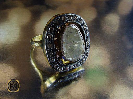 انگشتر الماس اصل و معدنی طرح نیکو زنانه – کد ۲۱۷۲