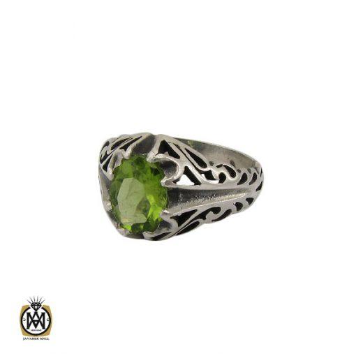 انگشتر زبرجد مردانه - کد 10287 - 1 111 510x510
