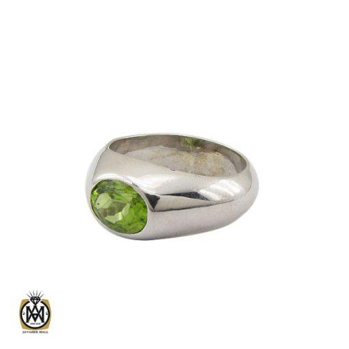 انگشتر زبرجد مرغوب مردانه دست ساز - کد 10329 - 1 175 510x510