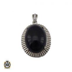 مدال آمتیست زنانه اصل و معدنی طرح ارمغان - کد 3316 - 1 52 247x247