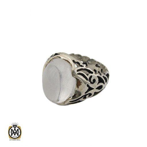 انگشتر دُر نجف مردانه - کد 10207 - 1 8 510x510