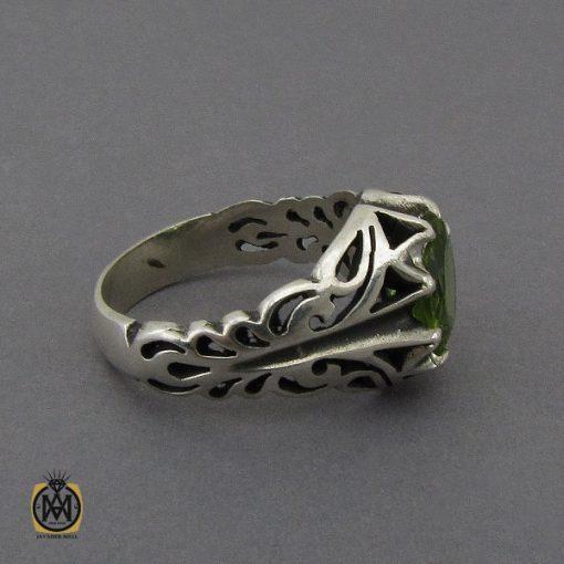 انگشتر زبرجد مردانه - کد 10287 - 2 111 510x510