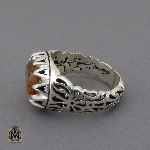 انگشتر زولتنایت طرح صفوی مردانه هنر استاد صانعی - کد 10306 - 2 130 510x510