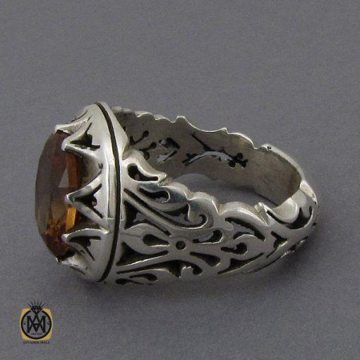 انگشتر زولتنایت مردانه دست ساز هنر استاد صانعی - کد 10308 - 2 132 510x510