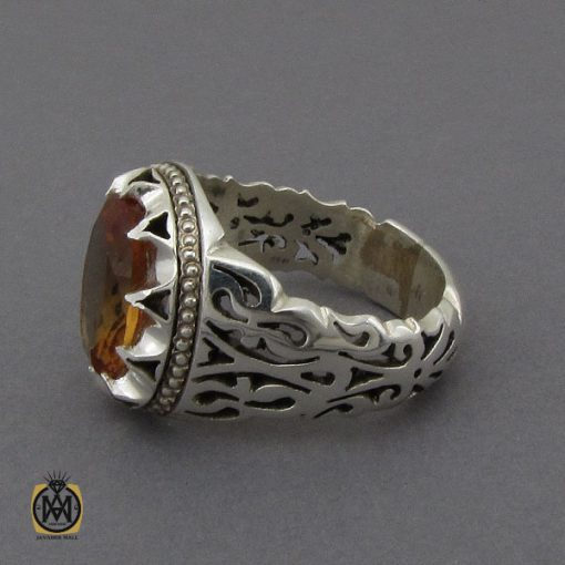 انگشتر زولتنایت مردانه دست ساز هنر استاد صانعی - کد 10307 - 2 138 510x510
