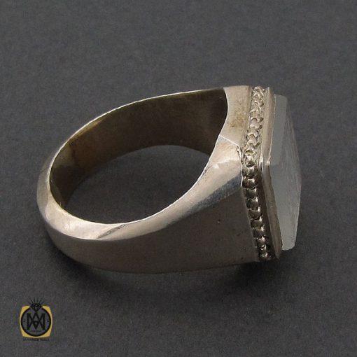 انگشتر عقیق یمن یا حکاکی هفت شرف مردانه دست ساز - کد 10242 - 2 67 510x510