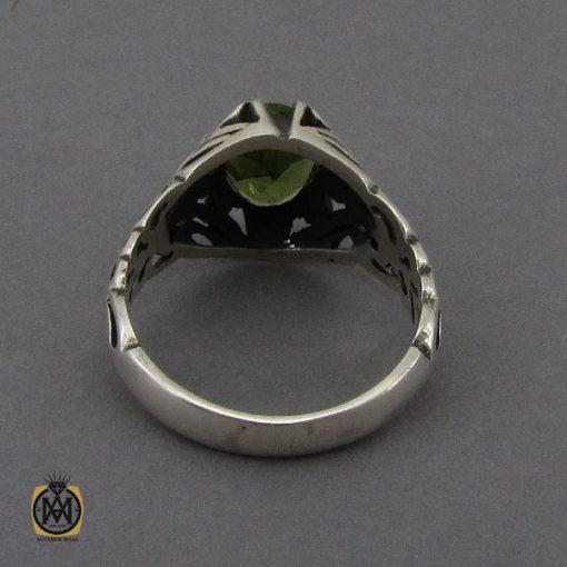 انگشتر زبرجد مردانه - کد 10287 - 3 111 510x510