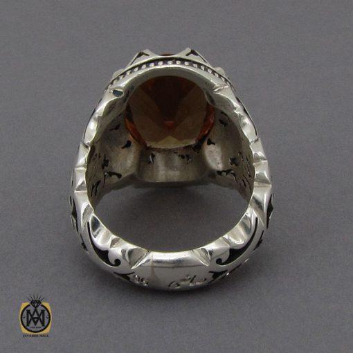 انگشتر زولتنایت مردانه دست ساز هنر استاد صانعی - کد 10309 - 3 133 510x510