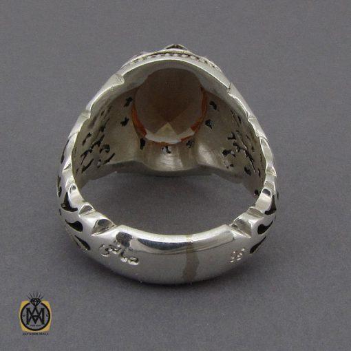 انگشتر زولتنایت مردانه دست ساز هنر استاد صانعی - کد 10307 - 3 138 510x510