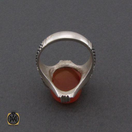 انگشتر عقیق یمن مردانه - کد 10347 - 3 193 510x510