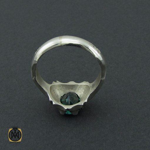 انگشتر توپاز سبز مردانه - کد 10390 - 3 249 510x510