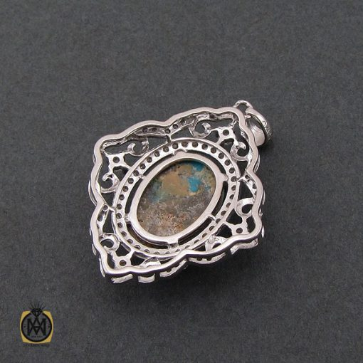 مدال فیروزه نیشابوری طرح آوینا زنانه - کد 3197 - 3 38 510x510