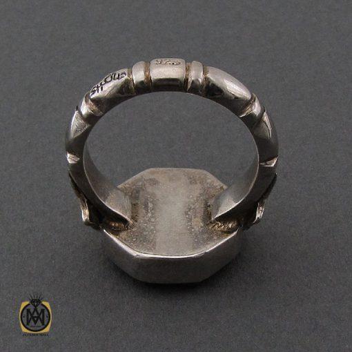 انگشتر عقیق یمن با حکاکی یا ستار العیوب دست ساز مردانه - کد 10232 - 3 57 510x510
