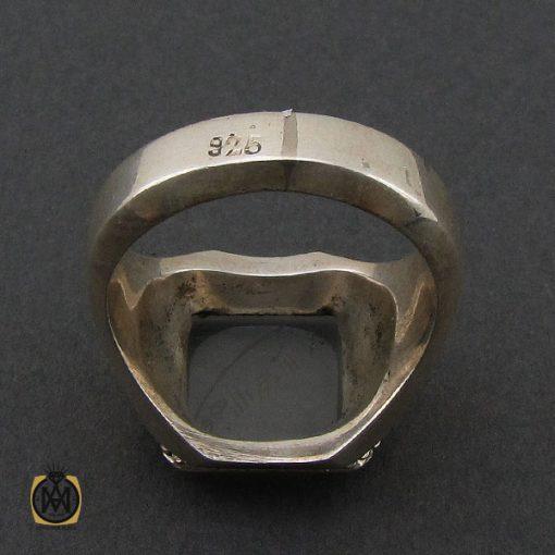 انگشتر عقیق یمن یا حکاکی هفت شرف مردانه دست ساز - کد 10242 - 3 67 510x510