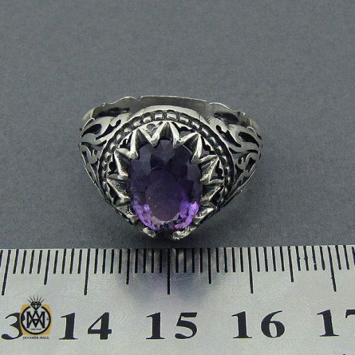 انگشتر آمتیست مردانه - کد 10389 - 4 247 510x510
