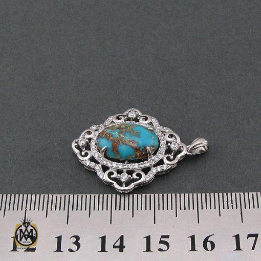 مدال فیروزه نیشابوری طرح آوینا زنانه - کد 3197 - 4 37 510x510