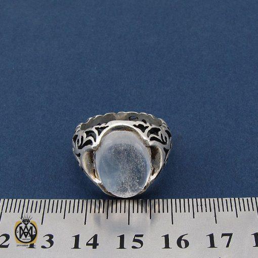 انگشتر دُر نجف مردانه - کد 10207 - 4 8 510x510