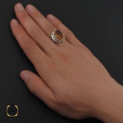 انگشتر زولتنایت خوش رنگ مردانه - کد 10305