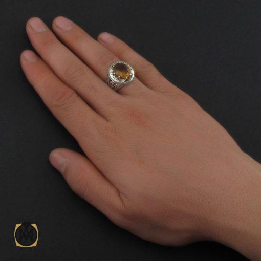 انگشتر زولتنایت مردانه دست ساز هنر استاد صانعی - کد 10308 - 5 106 510x510