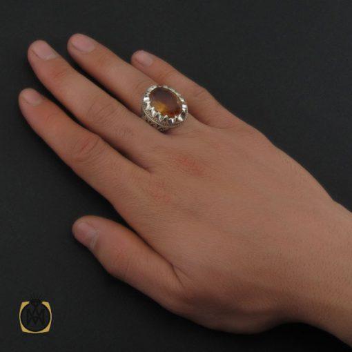 انگشتر زولتنایت مردانه دست ساز هنر استاد صانعی - کد 10309 - 5 107 510x510