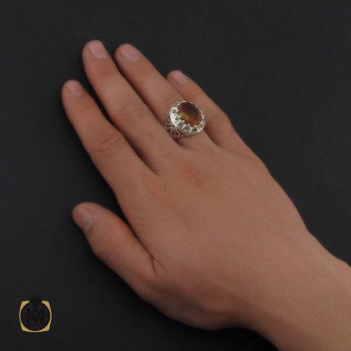 انگشتر زولتنایت درشت مردانه  - کد 10313 - 5 111 510x510