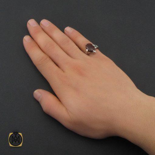 انگشتر عقیق یمن مردانه - کد 10349 - 5 157 510x510