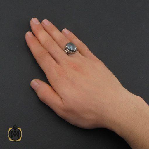 انگشتر حدید صینی با حکاکی هفت جلاله مردانه - کد 10374 - 5 186 510x510