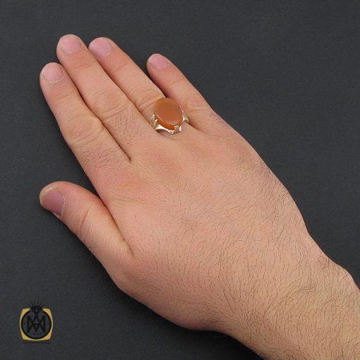 انگشتر عقیق یمن مردانه - کد 10379 - 5 195 510x510